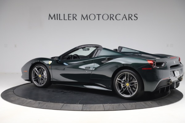 Used 2019 Ferrari 488 Spider Base for sale $329,900 at Aston Martin of Greenwich in Greenwich CT 06830 4