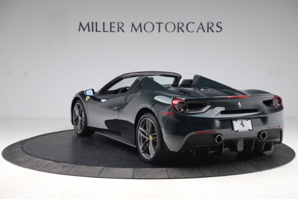 Used 2019 Ferrari 488 Spider Base for sale $329,900 at Aston Martin of Greenwich in Greenwich CT 06830 5