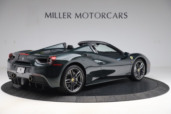Used 2019 Ferrari 488 Spider Base for sale $329,900 at Aston Martin of Greenwich in Greenwich CT 06830 8