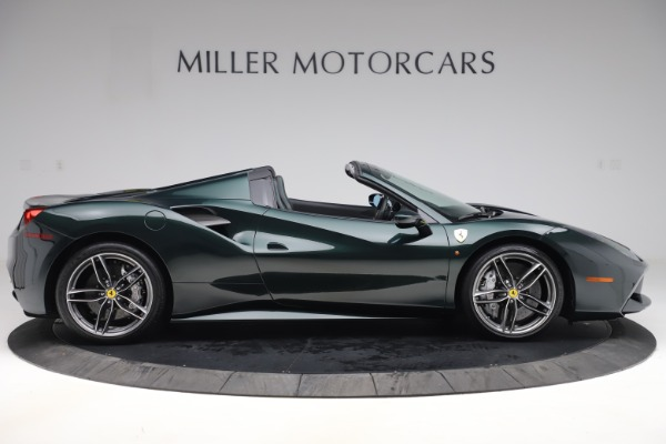 Used 2019 Ferrari 488 Spider Base for sale $329,900 at Aston Martin of Greenwich in Greenwich CT 06830 9