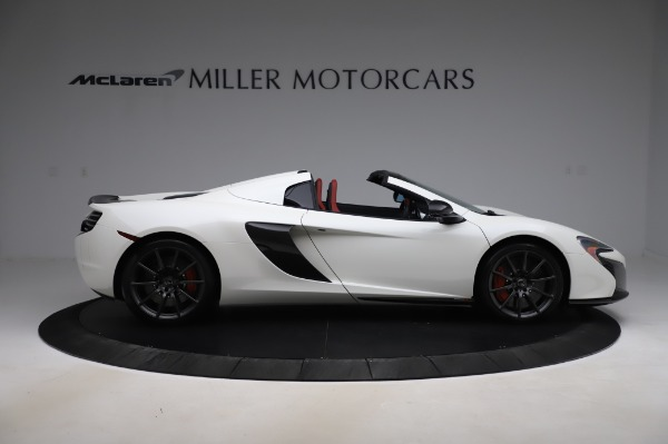 Used 2016 McLaren 650S Spider for sale $159,900 at Aston Martin of Greenwich in Greenwich CT 06830 11