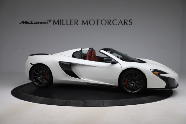 Used 2016 McLaren 650S Spider for sale $159,900 at Aston Martin of Greenwich in Greenwich CT 06830 12