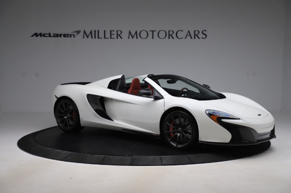 Used 2016 McLaren 650S Spider for sale $159,900 at Aston Martin of Greenwich in Greenwich CT 06830 13