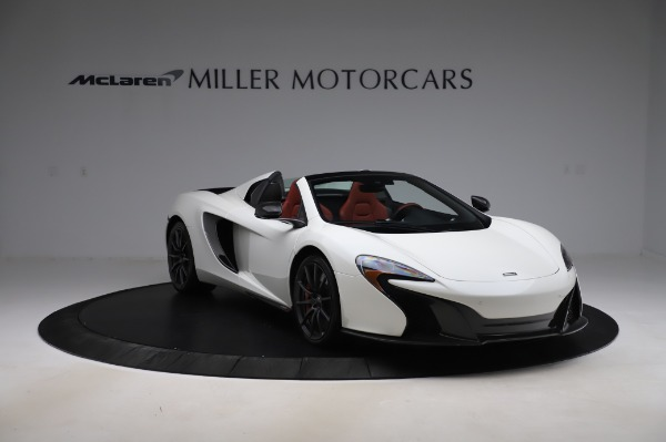 Used 2016 McLaren 650S Spider for sale $159,900 at Aston Martin of Greenwich in Greenwich CT 06830 14