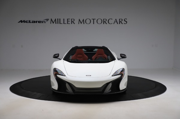 Used 2016 McLaren 650S Spider for sale $159,900 at Aston Martin of Greenwich in Greenwich CT 06830 15