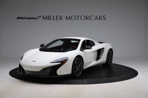 Used 2016 McLaren 650S Spider for sale $159,900 at Aston Martin of Greenwich in Greenwich CT 06830 16