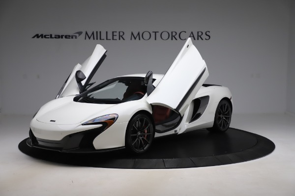 Used 2016 McLaren 650S Spider for sale $159,900 at Aston Martin of Greenwich in Greenwich CT 06830 28