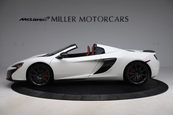 Used 2016 McLaren 650S Spider for sale $159,900 at Aston Martin of Greenwich in Greenwich CT 06830 3