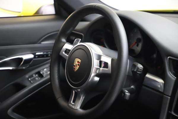 Used 2013 Porsche 911 Carrera 4S for sale $74,900 at Aston Martin of Greenwich in Greenwich CT 06830 23