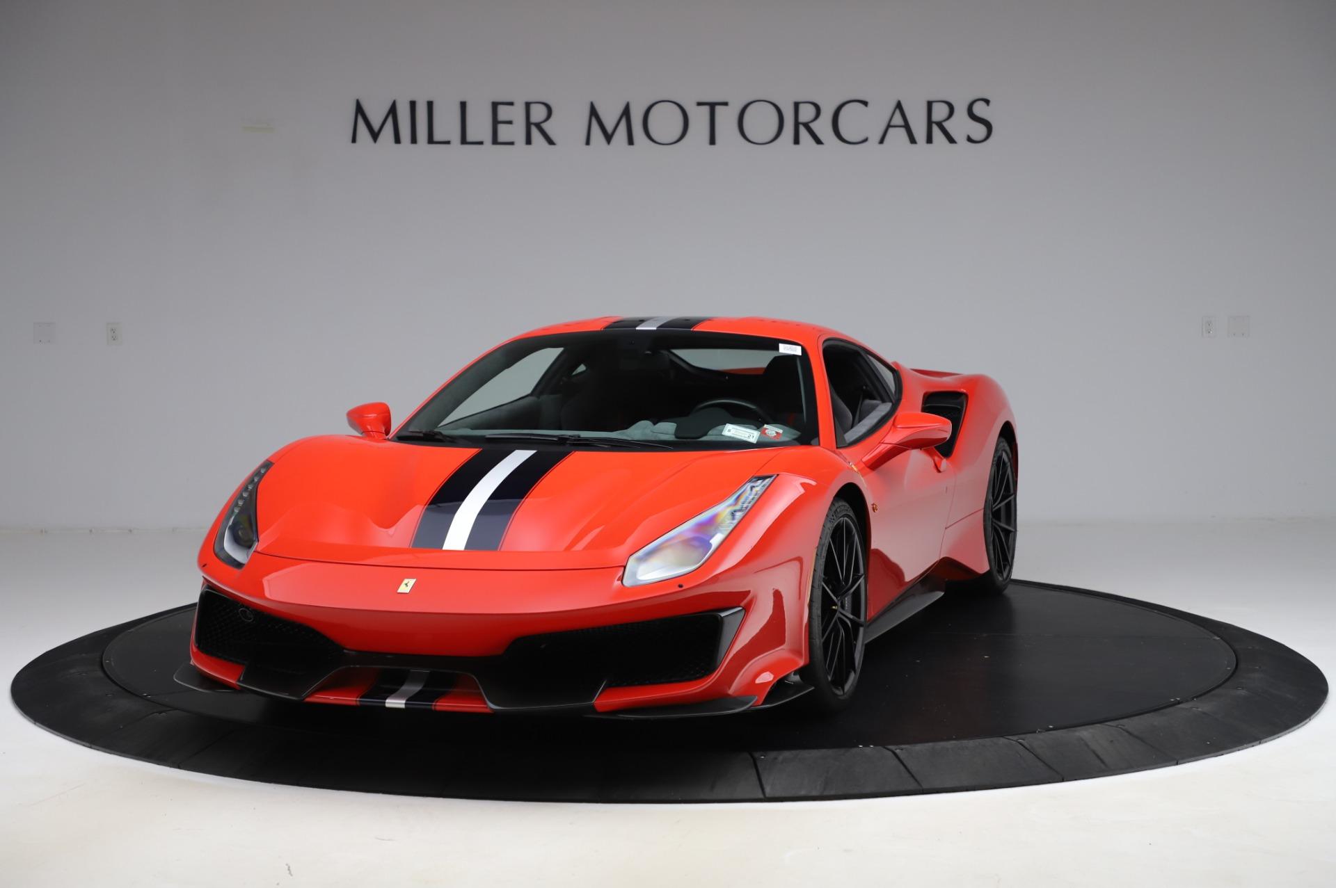Used 2020 Ferrari 488 Pista for sale $439,900 at Aston Martin of Greenwich in Greenwich CT 06830 1