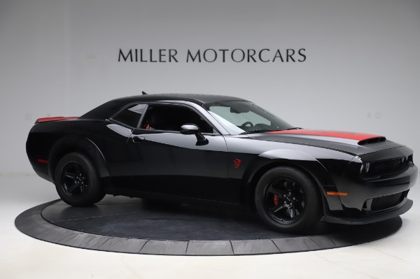 Used 2018 Dodge Challenger SRT Demon for sale Call for price at Aston Martin of Greenwich in Greenwich CT 06830 10