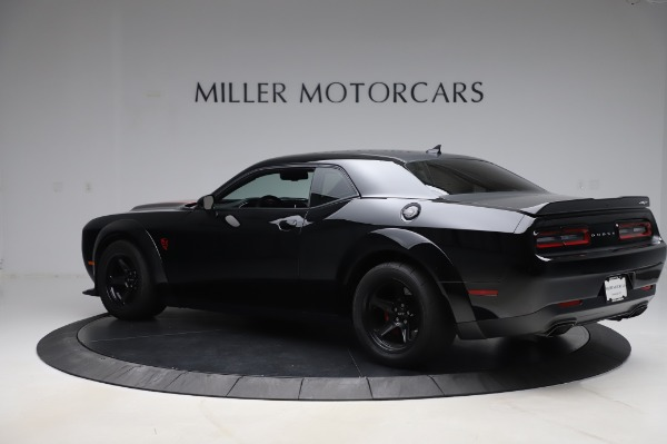 Used 2018 Dodge Challenger SRT Demon for sale Call for price at Aston Martin of Greenwich in Greenwich CT 06830 4