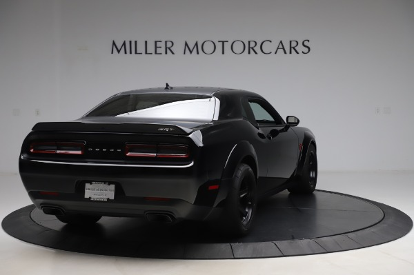 Used 2018 Dodge Challenger SRT Demon for sale Call for price at Aston Martin of Greenwich in Greenwich CT 06830 7