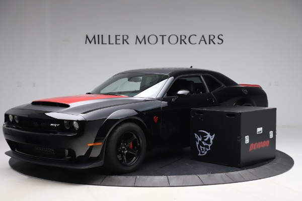 Used 2018 Dodge Challenger SRT Demon for sale Call for price at Aston Martin of Greenwich in Greenwich CT 06830 1