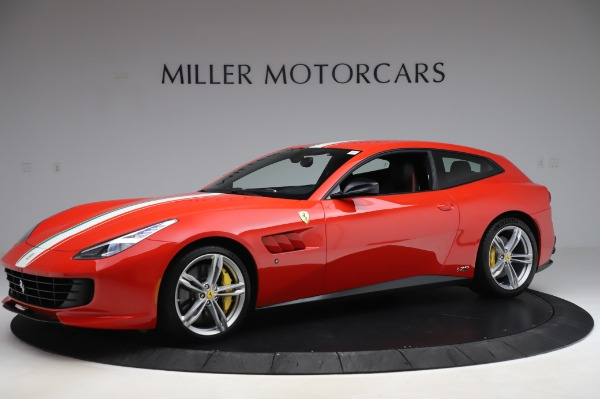 Used 2018 Ferrari GTC4Lusso for sale Call for price at Aston Martin of Greenwich in Greenwich CT 06830 2