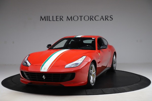 Used 2018 Ferrari GTC4Lusso for sale Call for price at Aston Martin of Greenwich in Greenwich CT 06830 1