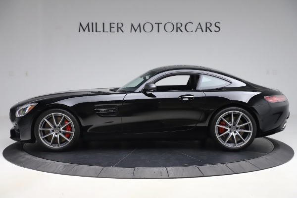Used 2018 Mercedes-Benz AMG GT S for sale $103,900 at Aston Martin of Greenwich in Greenwich CT 06830 3