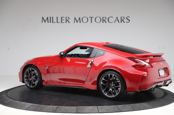 Used 2018 Nissan 370Z NISMO Tech for sale $39,900 at Aston Martin of Greenwich in Greenwich CT 06830 4