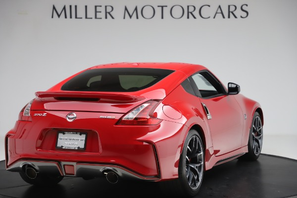 Used 2018 Nissan 370Z NISMO Tech for sale $39,900 at Aston Martin of Greenwich in Greenwich CT 06830 6