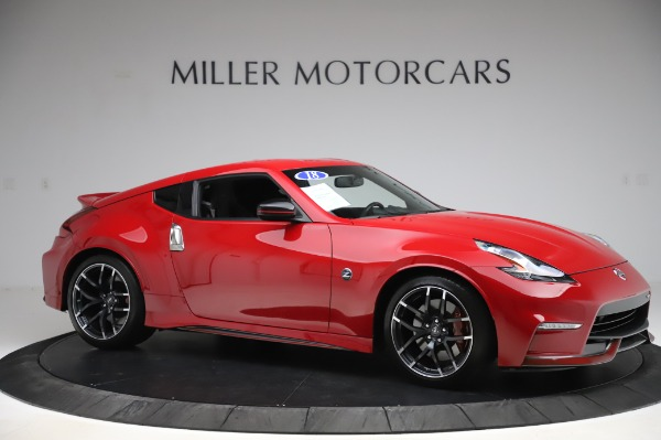 Used 2018 Nissan 370Z NISMO Tech for sale $39,900 at Aston Martin of Greenwich in Greenwich CT 06830 8