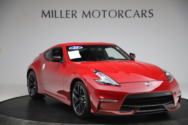 Used 2018 Nissan 370Z NISMO Tech for sale $39,900 at Aston Martin of Greenwich in Greenwich CT 06830 9