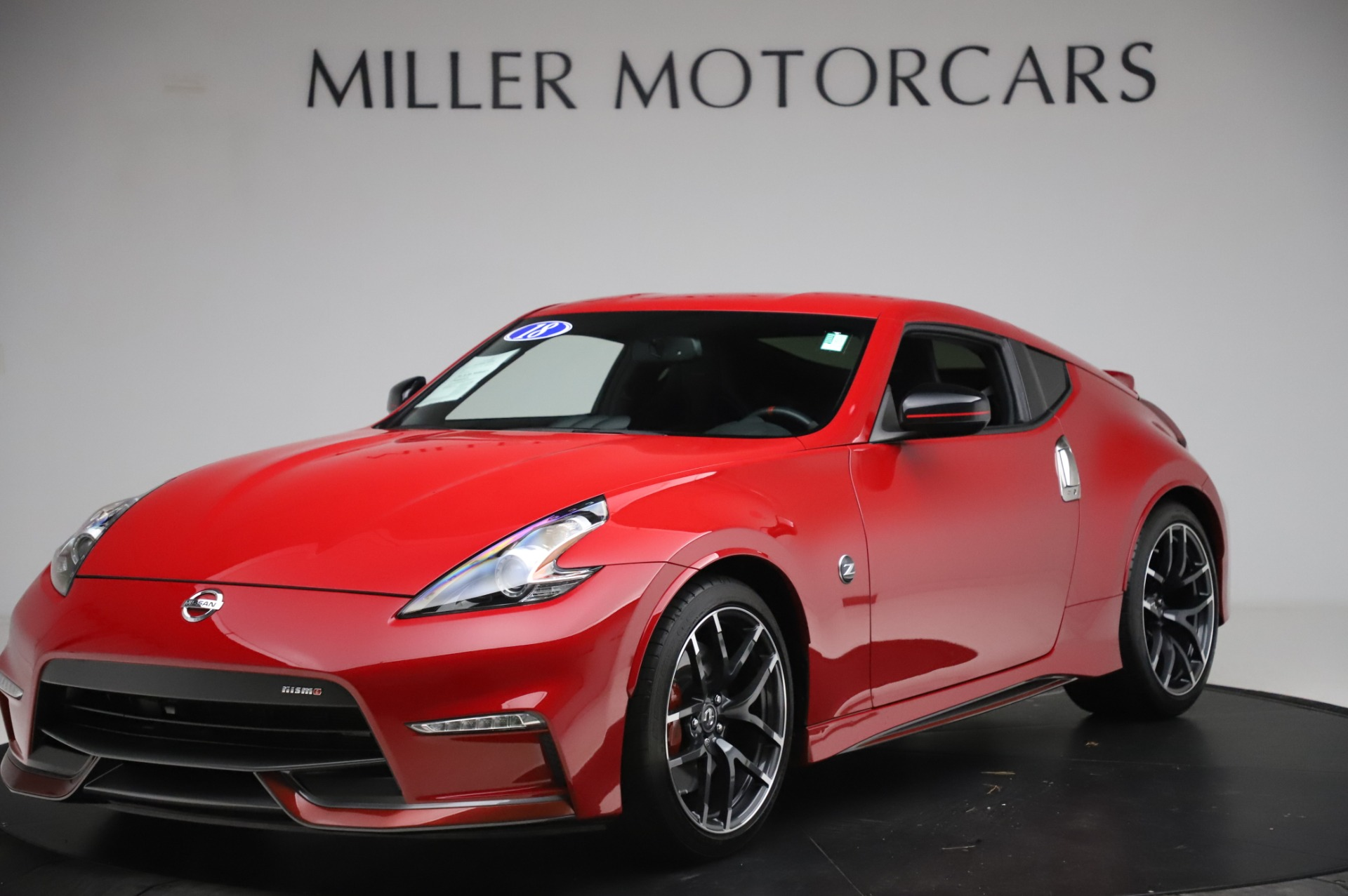 Used 2018 Nissan 370Z NISMO Tech for sale $39,900 at Aston Martin of Greenwich in Greenwich CT 06830 1