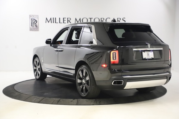 New 2021 Rolls-Royce Cullinan for sale $372,725 at Aston Martin of Greenwich in Greenwich CT 06830 6