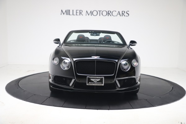 Used 2014 Bentley Continental GTC V8 S for sale $109,900 at Aston Martin of Greenwich in Greenwich CT 06830 10