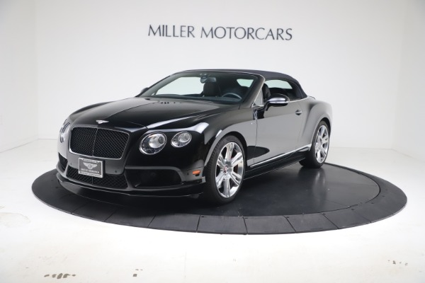 Used 2014 Bentley Continental GTC V8 S for sale $109,900 at Aston Martin of Greenwich in Greenwich CT 06830 11