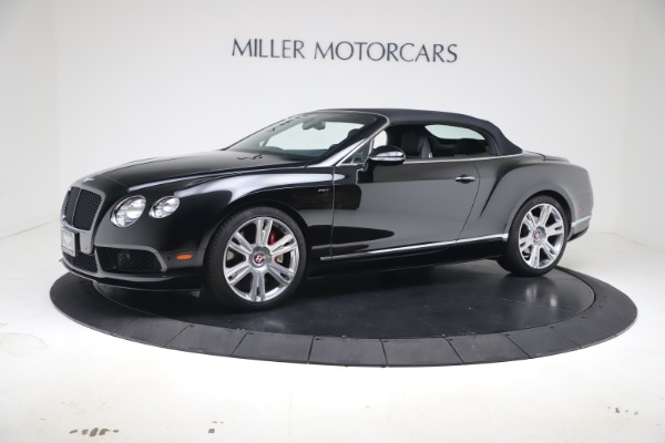 Used 2014 Bentley Continental GTC V8 S for sale $109,900 at Aston Martin of Greenwich in Greenwich CT 06830 12