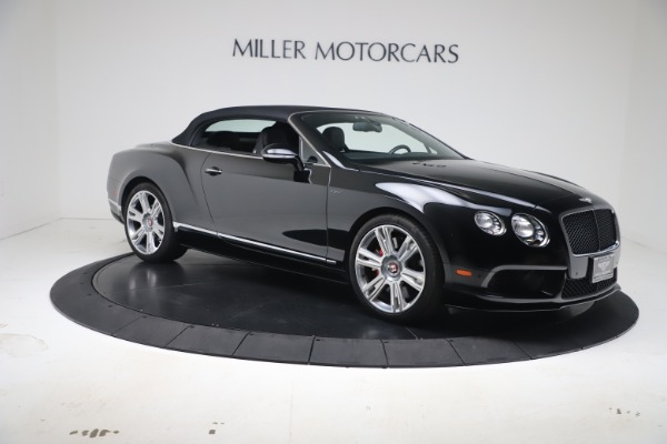 Used 2014 Bentley Continental GTC V8 S for sale $109,900 at Aston Martin of Greenwich in Greenwich CT 06830 18