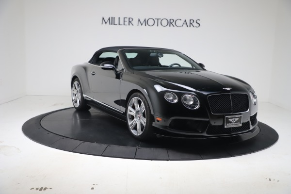 Used 2014 Bentley Continental GTC V8 S for sale $109,900 at Aston Martin of Greenwich in Greenwich CT 06830 19