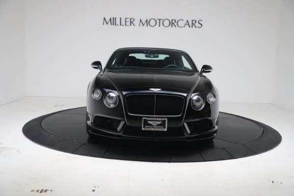 Used 2014 Bentley Continental GTC V8 S for sale $109,900 at Aston Martin of Greenwich in Greenwich CT 06830 20