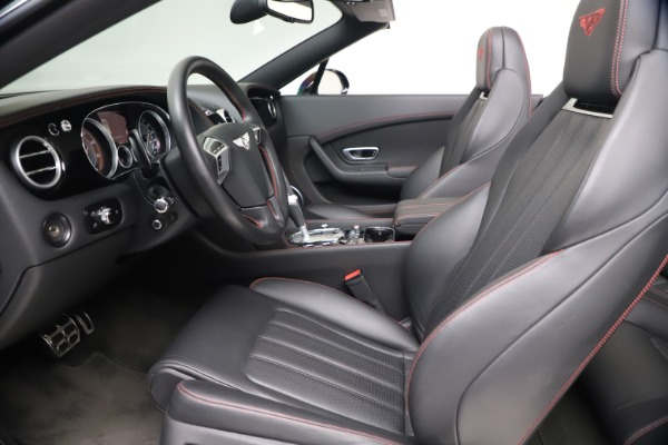 Used 2014 Bentley Continental GTC V8 S for sale $109,900 at Aston Martin of Greenwich in Greenwich CT 06830 25