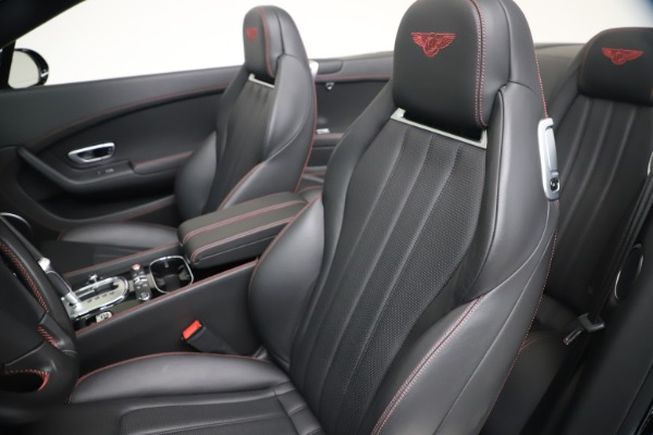 Used 2014 Bentley Continental GTC V8 S for sale $109,900 at Aston Martin of Greenwich in Greenwich CT 06830 26