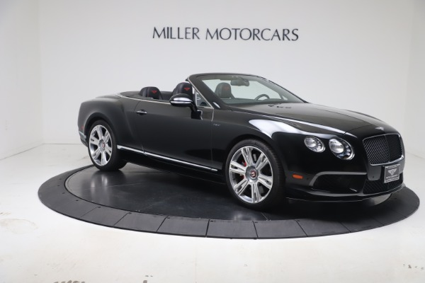 Used 2014 Bentley Continental GTC V8 S for sale $109,900 at Aston Martin of Greenwich in Greenwich CT 06830 9