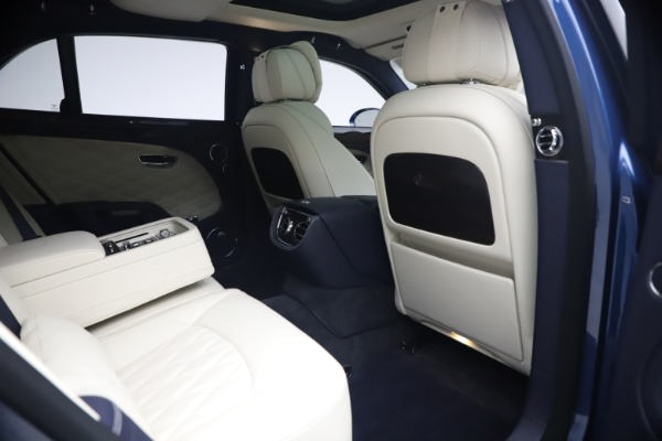 Used 2020 Bentley Mulsanne Speed for sale $269,900 at Aston Martin of Greenwich in Greenwich CT 06830 27