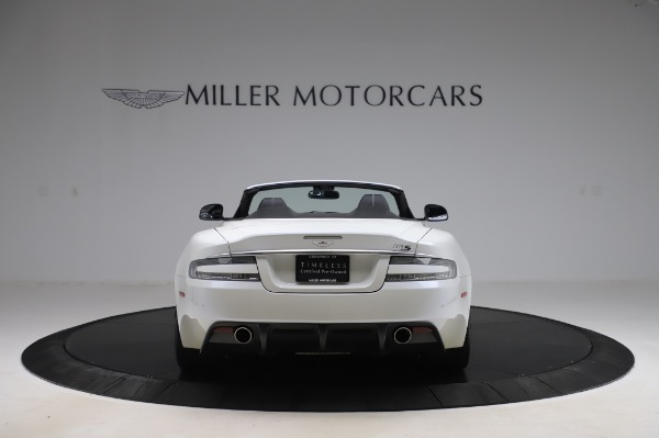 Used 2010 Aston Martin DBS Volante for sale $104,900 at Aston Martin of Greenwich in Greenwich CT 06830 5
