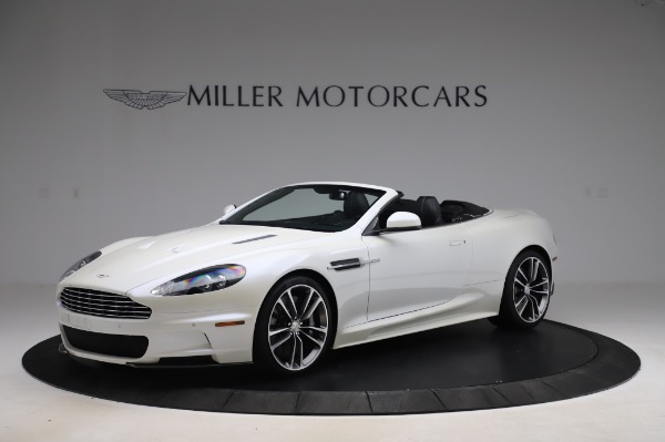 Used 2010 Aston Martin DBS Volante for sale $104,900 at Aston Martin of Greenwich in Greenwich CT 06830 1