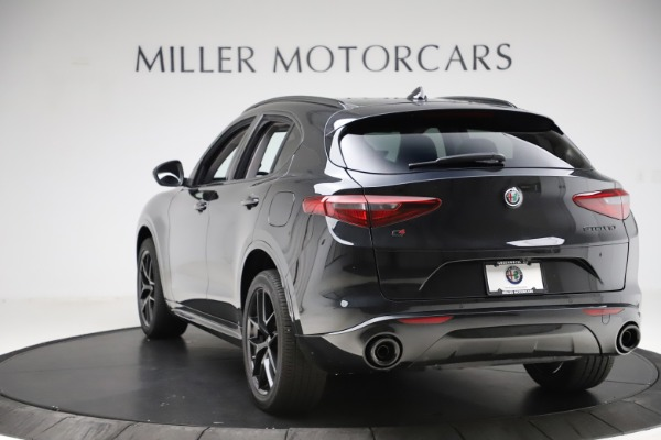 New 2020 Alfa Romeo Stelvio Ti Q4 for sale Sold at Aston Martin of Greenwich in Greenwich CT 06830 5