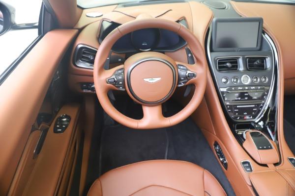 New 2020 Aston Martin DBS Superleggera Volante for sale $375,916 at Aston Martin of Greenwich in Greenwich CT 06830 19