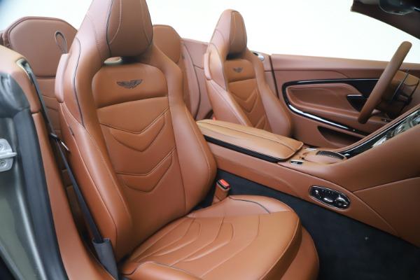 New 2020 Aston Martin DBS Superleggera Volante for sale $375,916 at Aston Martin of Greenwich in Greenwich CT 06830 24
