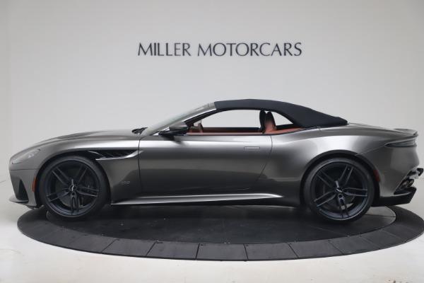 New 2020 Aston Martin DBS Superleggera Volante for sale $375,916 at Aston Martin of Greenwich in Greenwich CT 06830 27