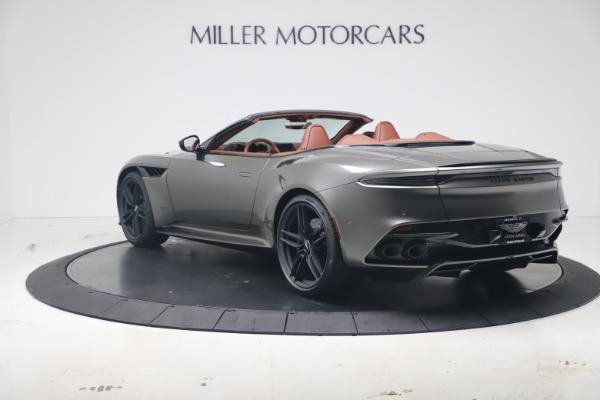 New 2020 Aston Martin DBS Superleggera Volante for sale $375,916 at Aston Martin of Greenwich in Greenwich CT 06830 4