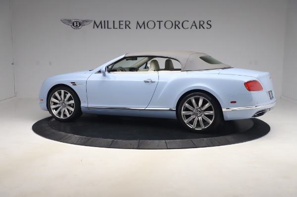 Used 2017 Bentley Continental GT Convertible W12 for sale $169,900 at Aston Martin of Greenwich in Greenwich CT 06830 17