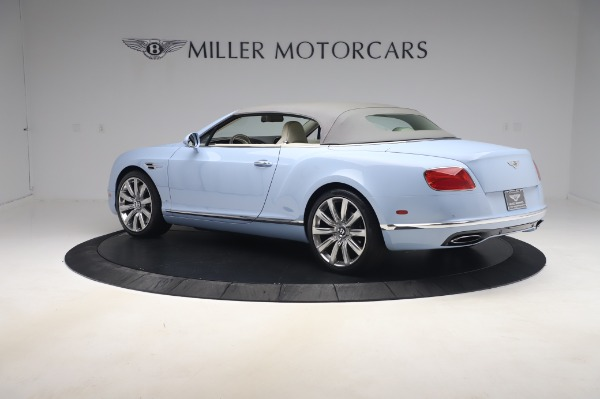 Used 2017 Bentley Continental GT Convertible W12 for sale $169,900 at Aston Martin of Greenwich in Greenwich CT 06830 18