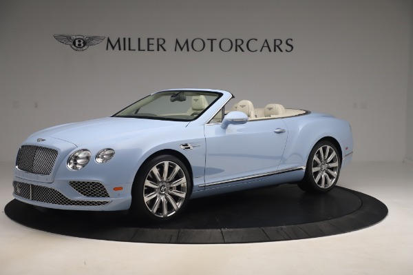 Used 2017 Bentley Continental GT Convertible W12 for sale $169,900 at Aston Martin of Greenwich in Greenwich CT 06830 2