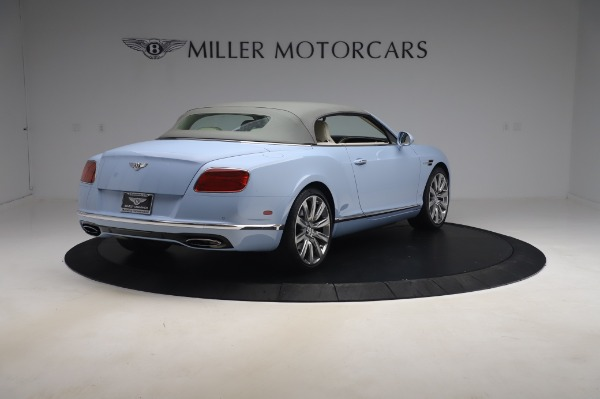 Used 2017 Bentley Continental GT Convertible W12 for sale $169,900 at Aston Martin of Greenwich in Greenwich CT 06830 20