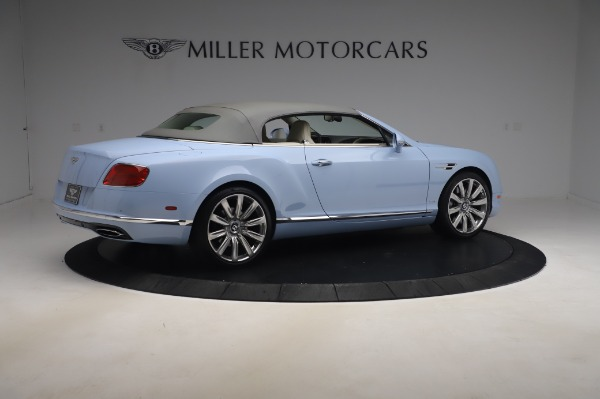 Used 2017 Bentley Continental GT Convertible W12 for sale $169,900 at Aston Martin of Greenwich in Greenwich CT 06830 21