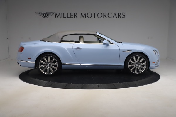 Used 2017 Bentley Continental GT Convertible W12 for sale $169,900 at Aston Martin of Greenwich in Greenwich CT 06830 22